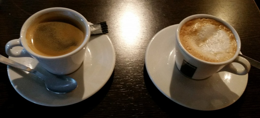 Care for Con leche and Americano? Giangrossi, Velazquez, Madrid