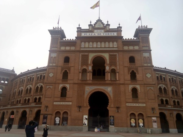 Front of Plaza de Toros, Ventas, Madrid