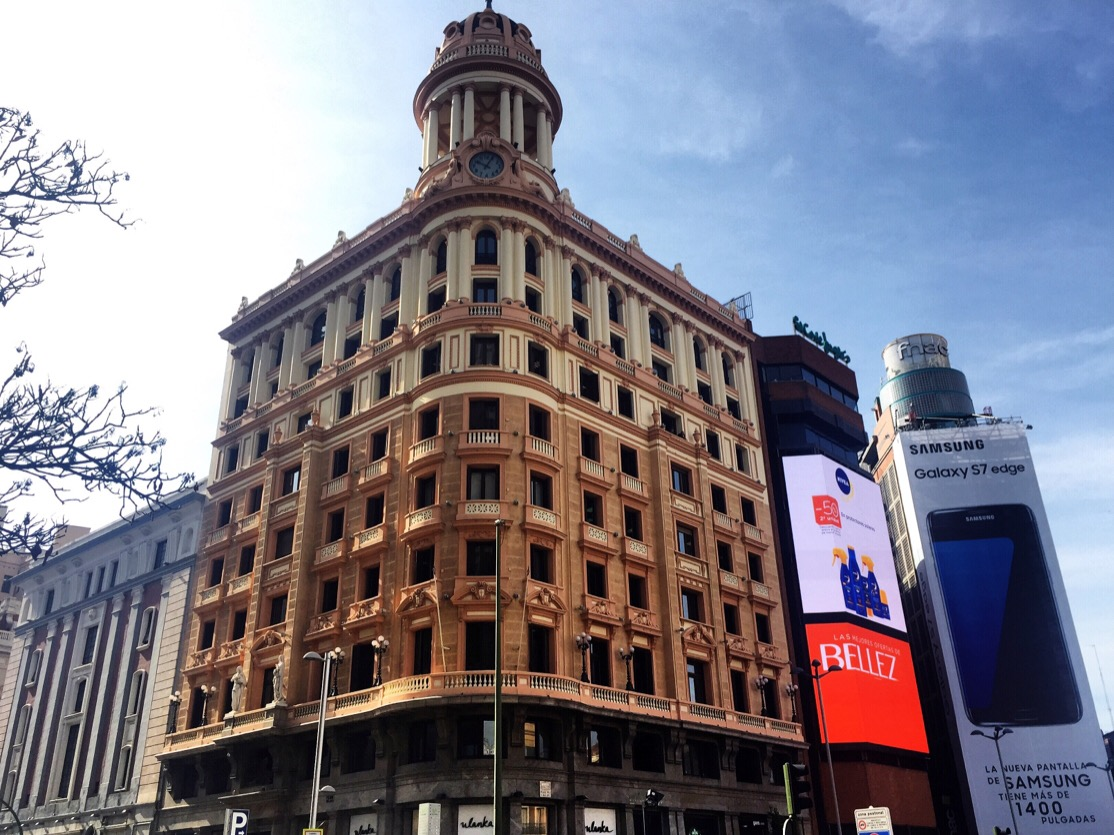Capital building let 39 s talk madrid for El corte ingles callao